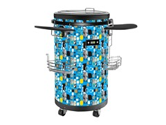 Equator Refrigerated Party Beverage Cooler, Blue