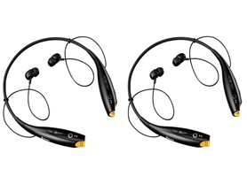 Maze Wireless Bluetooth Headsets - 2 Pk