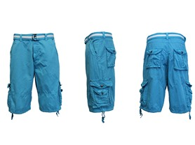 Belted Cargo Shorts - 8 Colors