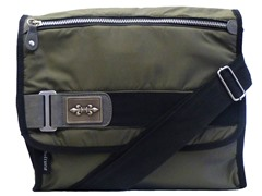 Cultura Canvas Messenger Bag, Olive