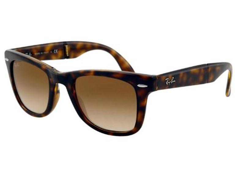 dd788a3e5f58 Ray-Ban 4105 Folding Wayfarer Sunglasses