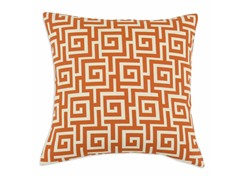 Oskar Terrace Persimmon 17x17 Pillow