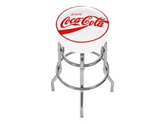 Pub Stool - White Coca-Cola®