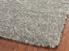 California Shag Rug Silver (5 Sizes)