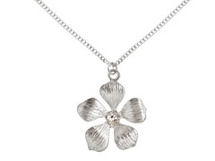 Relic RJ2306041 Silver Necklace Flower Pendant