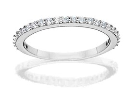 Sparkling Sterling Silver Eternity Ring