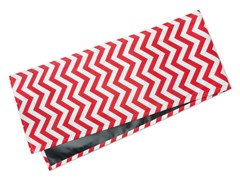 Chevron Table Runner-Red