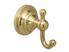 Tiara Robe Hook, Brass
