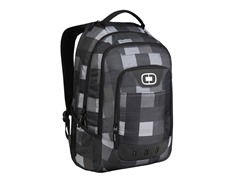 OGIO Operative Laptop Backpack - Gentry Plaid