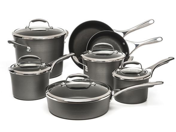 Kitchenaid Pot And Pan Set interesting kitchenaid pot and pan set steel cookware s inside