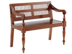 Classic Mahogany Bench