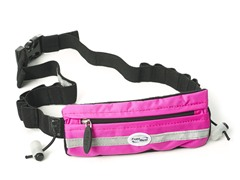 Slim Pocket Race Number Belt - Pink