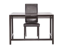 Baxton Studio Astoria Desk and Chair Set