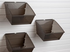 Flow Wall Medium Hard Bins 3-Pack, Black