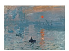 Monet Impression Sunrise (2 Sizes)