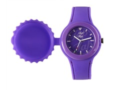 Purple Silicone Watch
