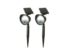 Solar Deluxe Spot Light Black 2-Piece