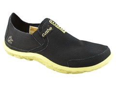 Men's Slipper - Black/Yellow