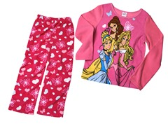 Princess 2-Piece Fleece Set (4-10)