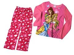 Princess 2-Piece Fleece Set (4-10)