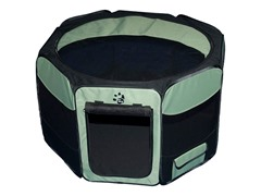 Octagon Pet Pen w/Removable Top - Sage