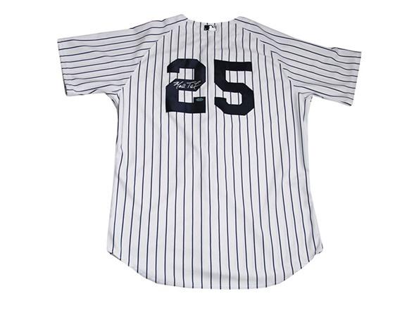 on sale 54e23 1b761 Mark Teixeira Signed Yankees Jersey