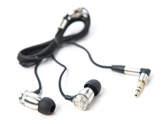 Trigger In-Ear Earphones - Silver