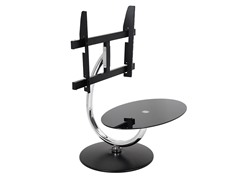 LumiSource  360 TV Stand Black