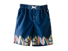 Swim Trunk - Navy Surf (4-6)