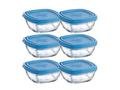 Duralex Set of 6- 5.37 Oz Lys Sq Bowl