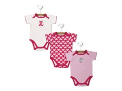 Dancer 3-Pk Bodysuits (0-9M)