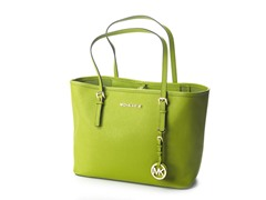 Jet Set Travel Small Travel Tote, Lime