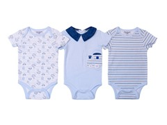Kyle & Deena Blue Bodysuit 3-Pack