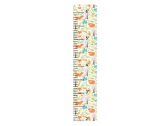 Peel & Stick Growth Chart - Foxes