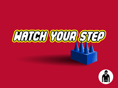 Watch Your Step Kids PO Hoodie