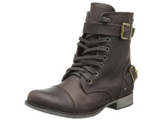 Sargeant Boot, Brown Leather
