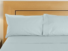 800TC Sheet Set - Light Blue - Queen