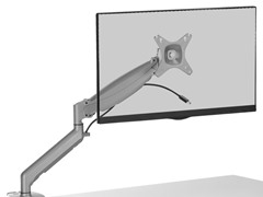 "Desktop Mount for 17-27"" Displays"