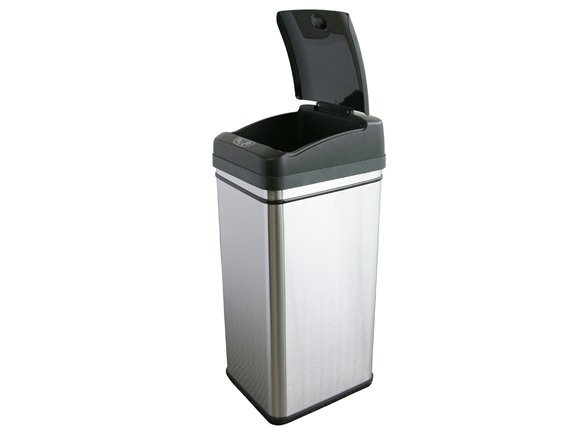 Deodorizer 13 Gallon Touchless Trash Can