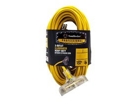 50Ft. 10/3 Tri-Tap Extension Cord