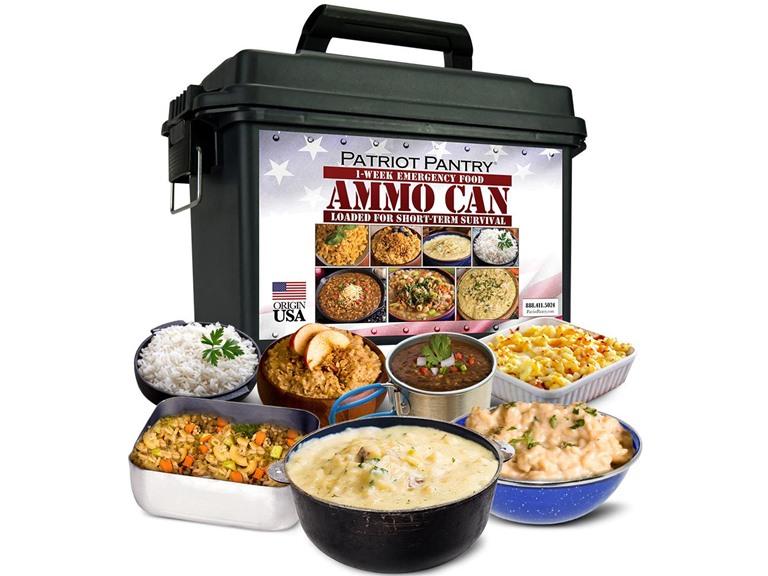 Patriot Pantry 1-Week Food Supply Ammo Can