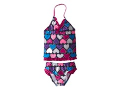 Multi Heart Tankini (4-6X)