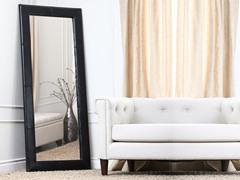 Feriana Leather Floor Mirror (4 Colors)