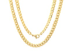 18kt Gold Plated Cuban Chain