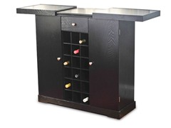 Wine Storage Cabinet - Black