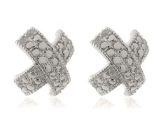 0.10cttw Diamond Earrings