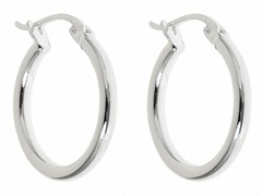 Sterling Silver Huggie Earrings