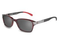 T302 Polarized Sunglasses, Burgundy
