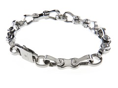 Stainless Steel Bicycle Link Bracelet