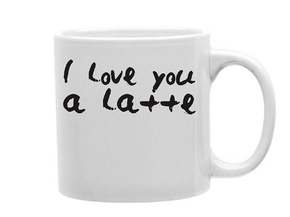 I Love You A Latte Mug HG88209A